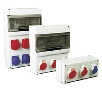 Grupo gemidi cuadros electricos para naves industriales for Caja cuadro electrico